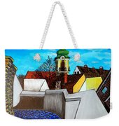 Szentendre - View From The Castlehill Weekender Tote Bag