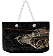 T-54 Soviet Tank Bk-bg Weekender Tote Bag