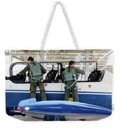 T-6 Texan Pilots Of The Hellenic Air Weekender Tote Bag