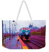 T Is For Train Weekender Tote Bag