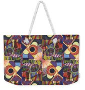 T J O D Tile Variations 10 Weekender Tote Bag