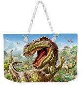 T-rex And Dinosaurs Weekender Tote Bag
