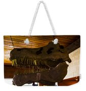 T Rex Head Weekender Tote Bag