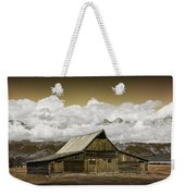 T.a. Moulton Barn In The Grand Tetons Weekender Tote Bag