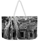 Ta Prohm Roots And Stone 01 Weekender Tote Bag