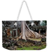 Ta Prohm Temple Ruins Weekender Tote Bag