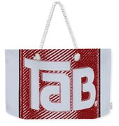 Tab Ode To Andy Warhol Weekender Tote Bag by Tony Rubino