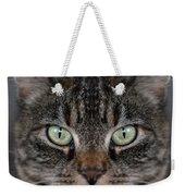 Tabby Cat Face Weekender Tote Bag