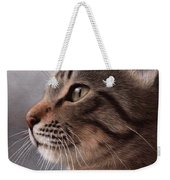Tabby Cat Painting Weekender Tote Bag