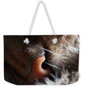 Tabby Cat's Nose Weekender Tote Bag