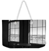 Table And Chair And The Windows Weekender Tote Bag