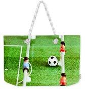 Table Football Weekender Tote Bag