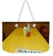 Table For 6 Weekender Tote Bag