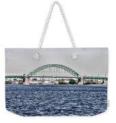 Tacony Bridge Weekender Tote Bag