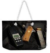 Tactical Gear - Gun  Weekender Tote Bag
