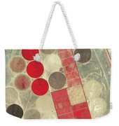 Tadco Farm Saudi Arabia Satellite Weekender Tote Bag by GeoEye