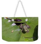 Tadpole And Frog Weekender Tote Bag