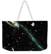 Tadpole Galaxy Weekender Tote Bag by Jennifer Rondinelli Reilly - Fine Art Photography