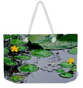 Tadpole Haven Weekender Tote Bag by Frozen in Time Fine Art Photography