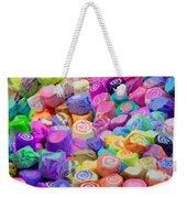 Taffy Candyland Weekender Tote Bag