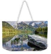 Taggart Lake  Grand Teton National Park Weekender Tote Bag