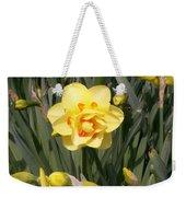 Tahiti Double Daffodil Weekender Tote Bag