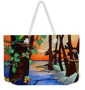 Tahiti Window Weekender Tote Bag