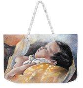 Tahitian Baby Weekender Tote Bag
