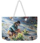 Tahitian Banana Carryer Weekender Tote Bag