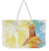 Tahitian Dancer Weekender Tote Bag