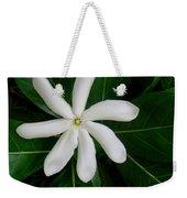 Tahitian Gardenia Weekender Tote Bag