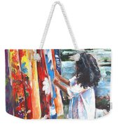 Tahitian Girl With Pareos Weekender Tote Bag