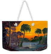 Tahitian Sunset Weekender Tote Bag