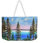 Tahoe Pines Weekender Tote Bag