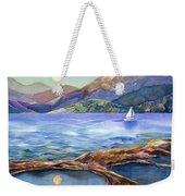 Tahoe Tides Weekender Tote Bag