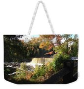 Tahquamenon Falls With My Iphone Weekender Tote Bag