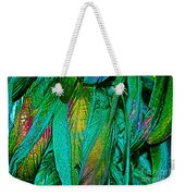 Tail Feathers Weekender Tote Bag