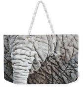 Tail Of African Elephant Weekender Tote Bag
