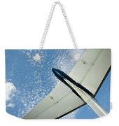 Tail Of The Airplane Weekender Tote Bag