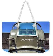 Tail Turret Weekender Tote Bag