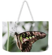 Tailed Jay Butterfly Weekender Tote Bag