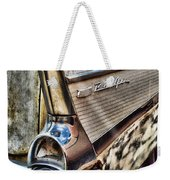 Taillight 1957 Chevy Bel Air Weekender Tote Bag