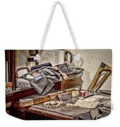 Tailors Work Bench Weekender Tote Bag