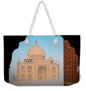 Taj Mahal Dawn Weekender Tote Bag