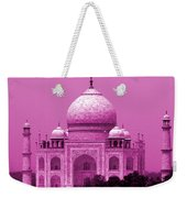 Pink Taj Mahal, Agra, India Weekender Tote Bag