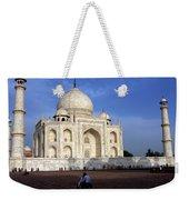Taj Mahal Love Weekender Tote Bag