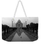 Taj Mahal Reflection Weekender Tote Bag