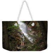 Take A Hike Weekender Tote Bag by Bill Wakeley