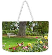 Take A Seat - Beautiful Rose Garden Of The Huntington Library. Weekender Tote Bag