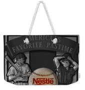 Take Me Out To The Ball Game Weekender Tote Bag